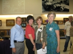 JARED HUISH, JOANNE RAY, CAROL HUBER, CONNIE KIRCHOFF