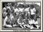 ENCANTO PARK ENGLISH CLASS TRIP ELAINE MICKELSON, FAY ALLDREDGE, SHARON LEGGEE, Donna Barr, BEVERLY RAY, JANA LOGREEN, N