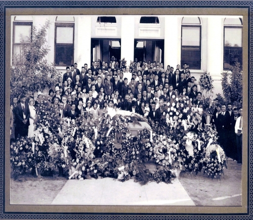Zedo Ishikowa's funeral at Mesa High Oct. 3,1932  Double Click on photo to see it. Thank you Harold Bushman for the pho