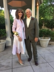 Donna Johnson & husband Phil Williams  at grandson's wedding